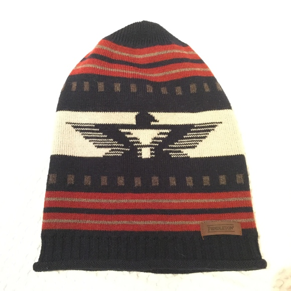 wool firebird beanie by Pendleton. M 5bf4cddb0cb5aa2fbc332d28 72155b30dfb